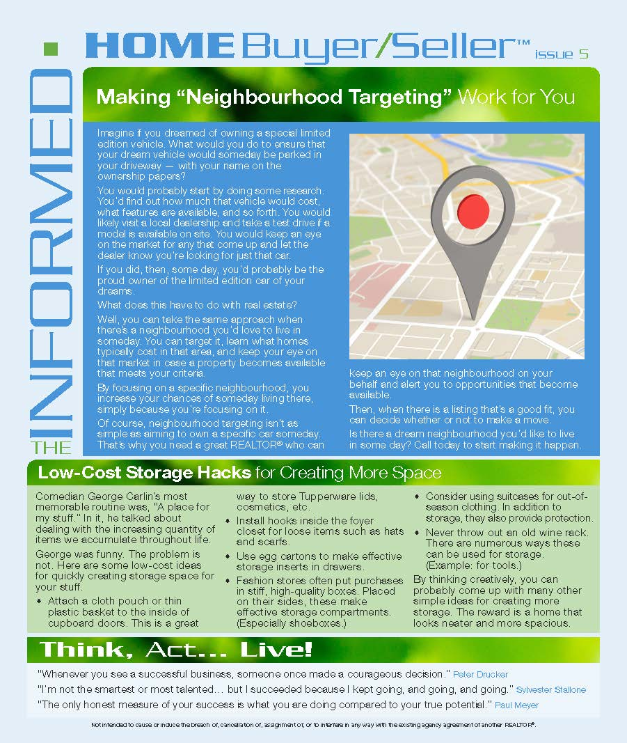 Informed Home Buyer May 16